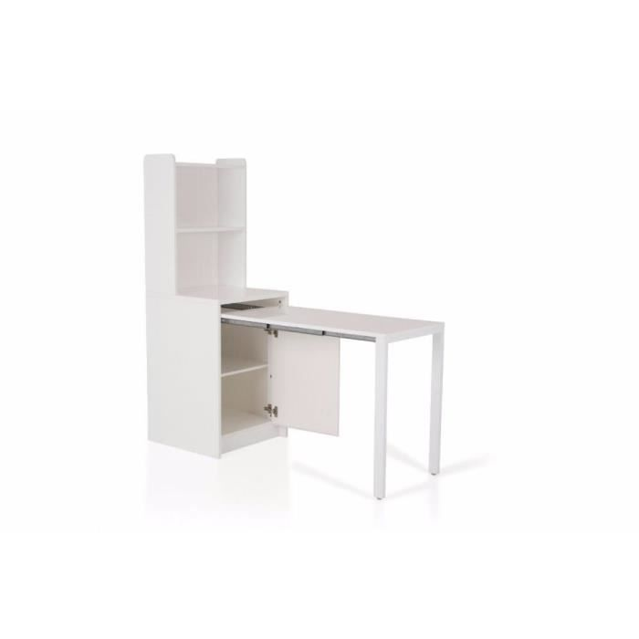 meuble kolto transformable en console extensible blanc achat vente console meuble kolto. Black Bedroom Furniture Sets. Home Design Ideas