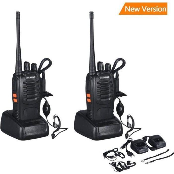TALKIE-WALKIE baofeng bf-888s Walkie Talkie 16CH Signal Band UHF