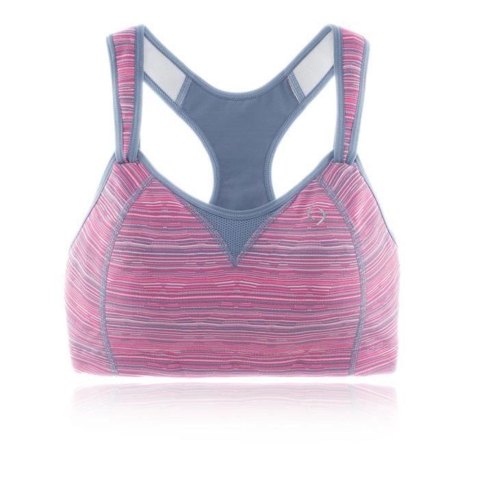 Moving confort Femme Rebound Racer Soutien-Gorge Noir Blanc Sports Gym Course