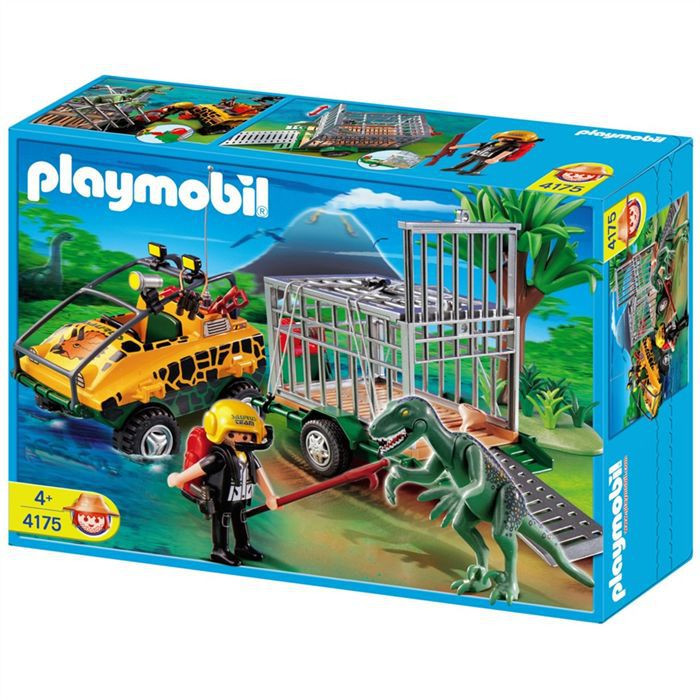 playmobil v hicule amphibie achat vente univers miniature cdiscount. Black Bedroom Furniture Sets. Home Design Ideas