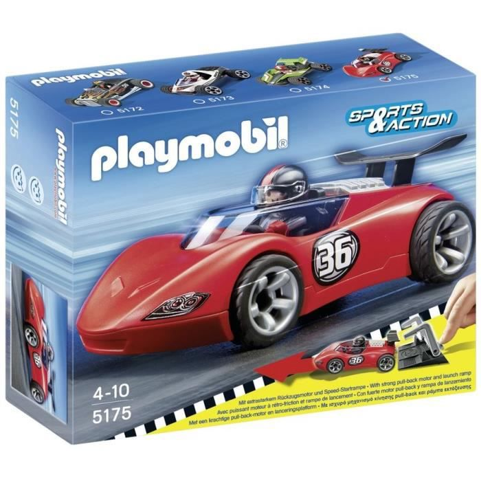 playmobil 5175 bolide de course achat vente univers miniature cdiscount. Black Bedroom Furniture Sets. Home Design Ideas