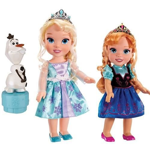 poup e la reine des neiges coffret anna elsa olaf achat vente poup e les soldes sur. Black Bedroom Furniture Sets. Home Design Ideas
