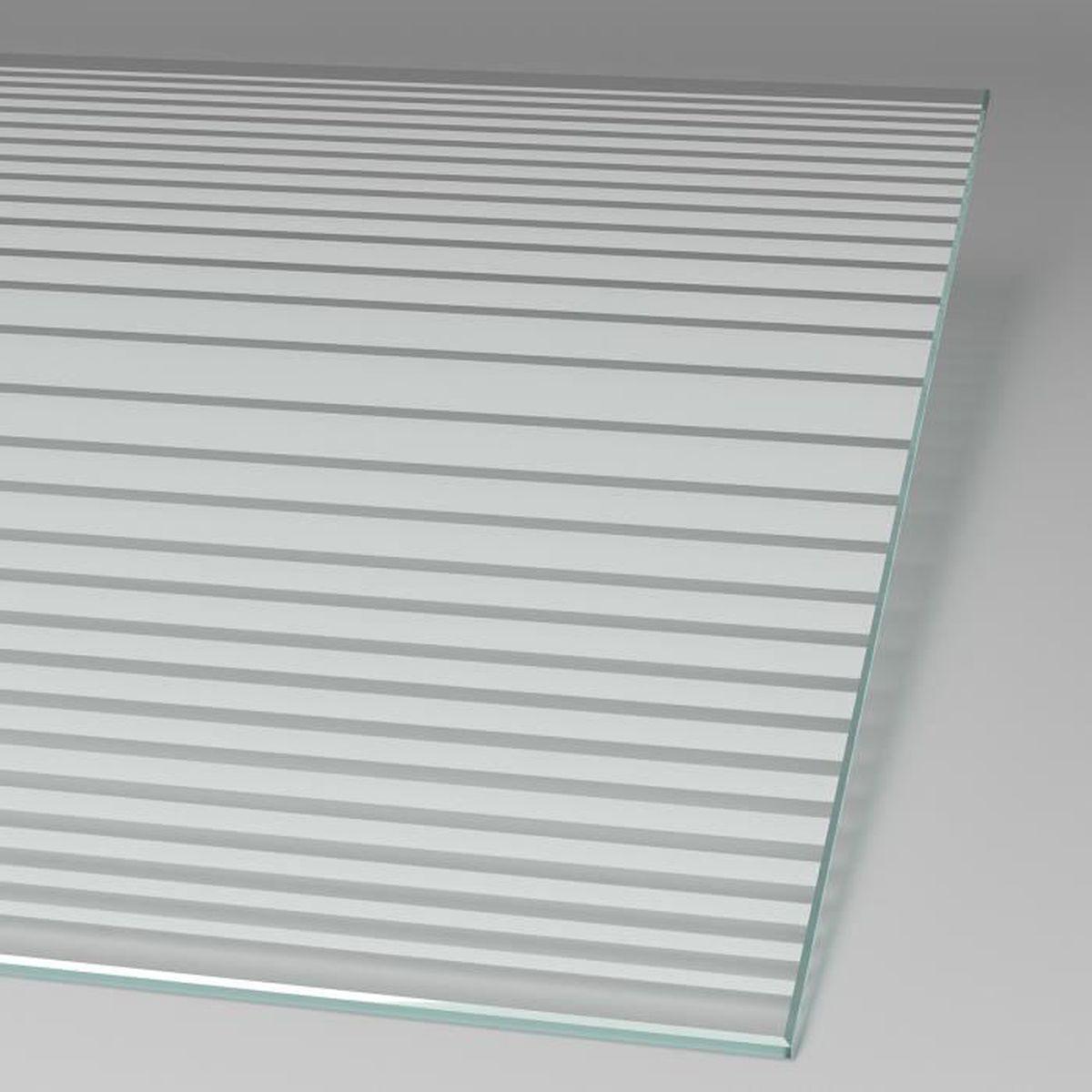 Verre de s/écurit/é 90 x 185 cm Schulte Porte de Douche coulissante en Niche paroi de Douche r/éversible avec d/écor Rayures Horizontales profil/és Blancs