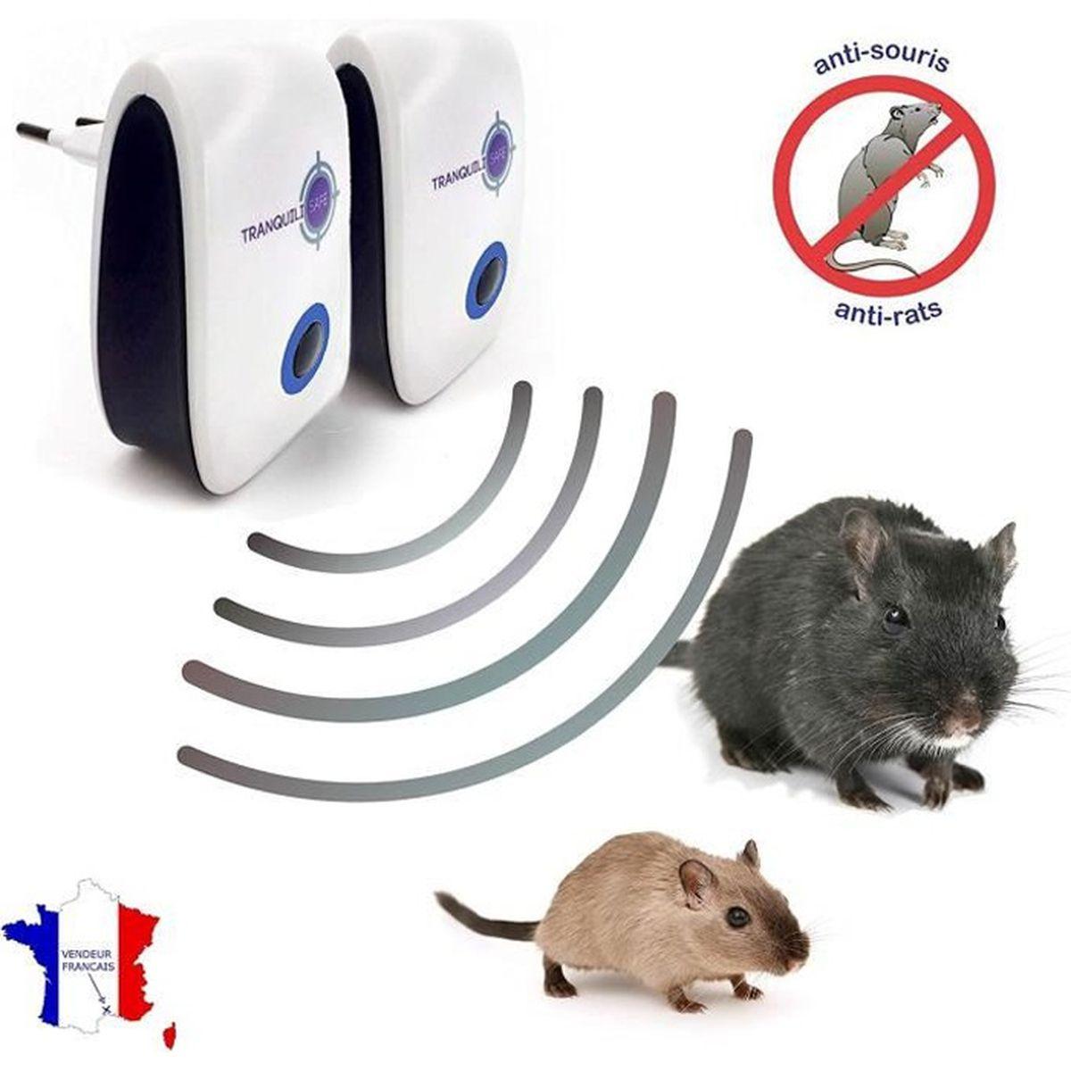 J Ai Une Souris Dans Mon Mur lot de 2 répulsifs ultrason souris rat i anti rongeur i appareil ultrasons  pour se débarrasser des souris i anti souris i anti