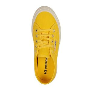 BASKET SUPERGA Baskets Toile Femme Jaune