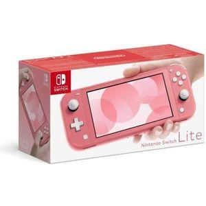 CONSOLE NINTENDO SWITCH Console Nintendo Switch Lite Corail