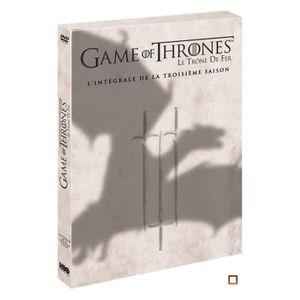 DVD SÉRIE DVD Game of Thrones (Le Trône de Fer) - Saison 3