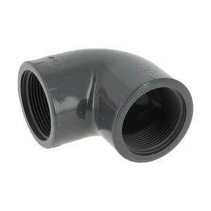 Adaptateur coude en plastique MDPE pour tuyau deau 90 degr/és 1//2 m/âle 25 mm