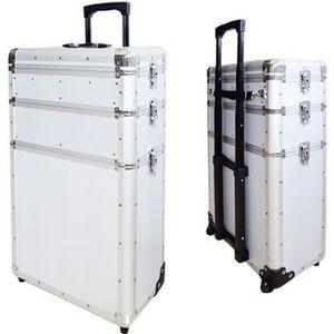environ 88.90 cm Extra Large 35 in Sac de voyage avec roues et poignée-cartable valise bagage