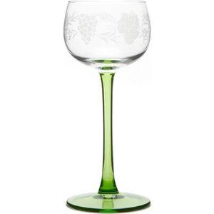 Verre à vin 6 Verres à Vin d'Alsace motif GRAPPE