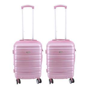 SET DE VALISES Lot de 2 valises cabines Extensible Worldline 55 x