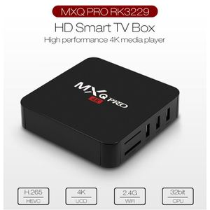 BOX MULTIMEDIA MXQ Pro TV Box 1.5GHz Amlogic S905W Rockship RK322