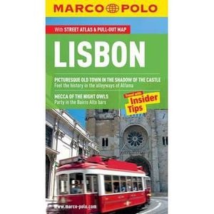 LIVRE RÉCIT DE VOYAGE Lisbon Marco Polo Guide - Annette Huller
