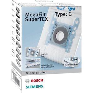 1-60 sacs pour aspirateur adapté pour Siemens Bosch vz41afg bbz41fg Type G 468383