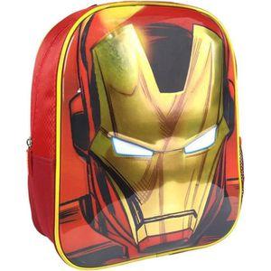 SAC À DOS MARVEL Sac à Dos Avengers Iron Man 3D Enfant