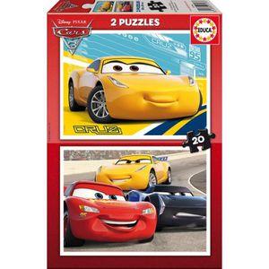 PUZZLE EDUCA Borras - Puzzle 2x20 CARS3 - 17176