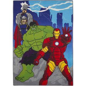 Hulk Smash cotton division Tapis de Sol Hulk Marvel