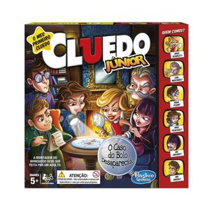 JEU SOCIÉTÉ - PLATEAU Hasbro Gaming - Cluedo junior C1293190 (version po