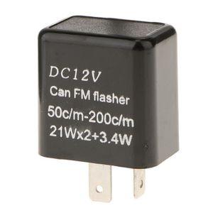 Module de relais clignotant /électronique CF13 CF-13 /à 3 broches Fixer le clignotant lumineux rapide pour moto 12V JL-02 clignotant pour led