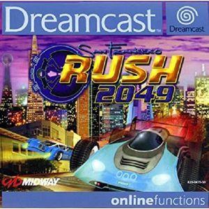 JEU DREAMCAST Rush 2049