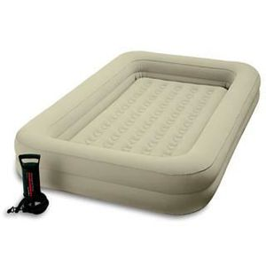 LIT GONFLABLE - AIRBED Matelas Airbed Intex KIDZ TRAVEL 168x107x25cm