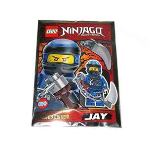 ASSEMBLAGE CONSTRUCTION Jeu D'Assemblage LEGO ALOXV ninjago jay 4 minfigur