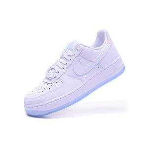 meilleures baskets f83fb f031a Baskets Nike Air Force 1 Low 07 PREMIUM Blanc Iridescent ...