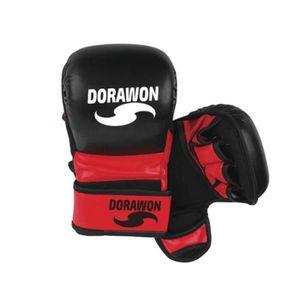 Blanc Gants de MMA Boston Dorawon