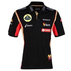 T-SHIRT POLO Shirt Adult Formula One 1 Lotus F1 PDVSA Mald