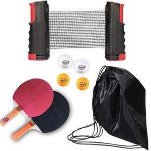 VGEBY Filet portatif Durable de Coton de Rechange de Filet de ping-Pong de Filet de Tennis de Table