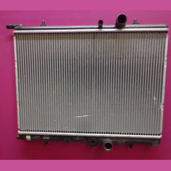 Radiateur d eau Universel Certifié TUV Essence et Diesel pour Peugeot 206 1.1i - 1.4i- 1.6i- 2.0i- 1.9D- 1.4 Hdi - 1.6Hdi - 2.0 Hdi