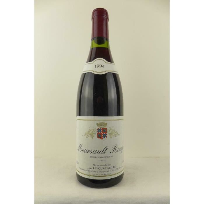 meursault latour-labille rouge 1994 - bourgogne
