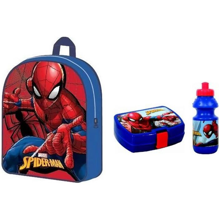 Sac 30 cm Spider-man Ensemble gouter