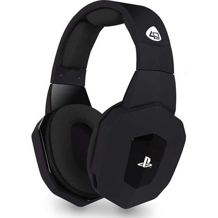 4 Gamers Pro4 80 Premium Gaming Headset Black for Ps4