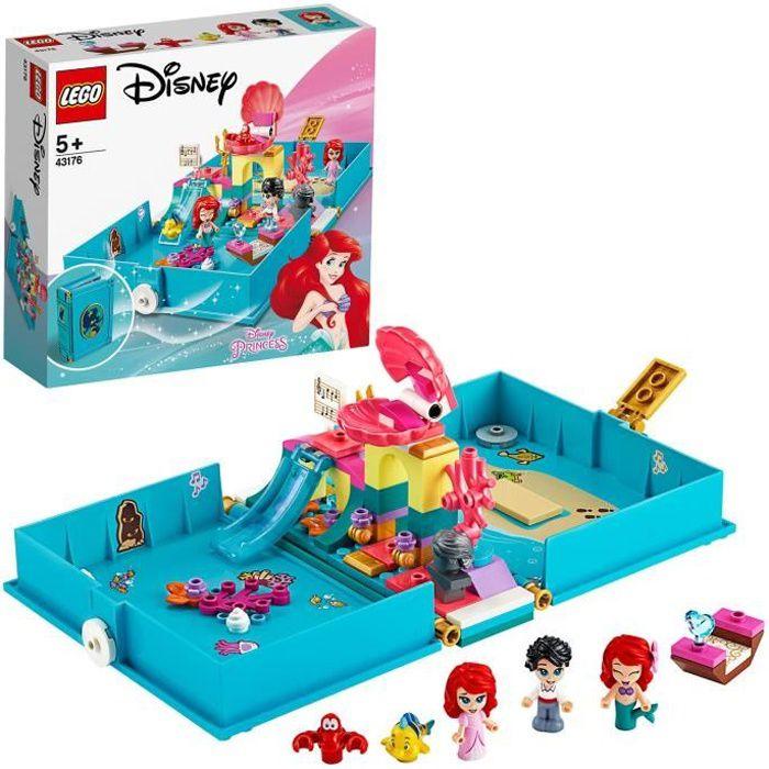 LEGO® Disney 43176 Les aventures d'Ariel dans un livre de contes