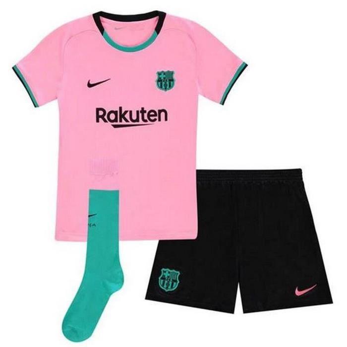 Ensemble Complet Mini-Kit Officiel Enfant Nike FC Barcelone Third Saison 2020-2021