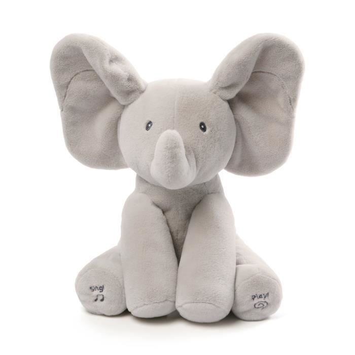 GUND - Flappy l'éléphant - Peluche interactive