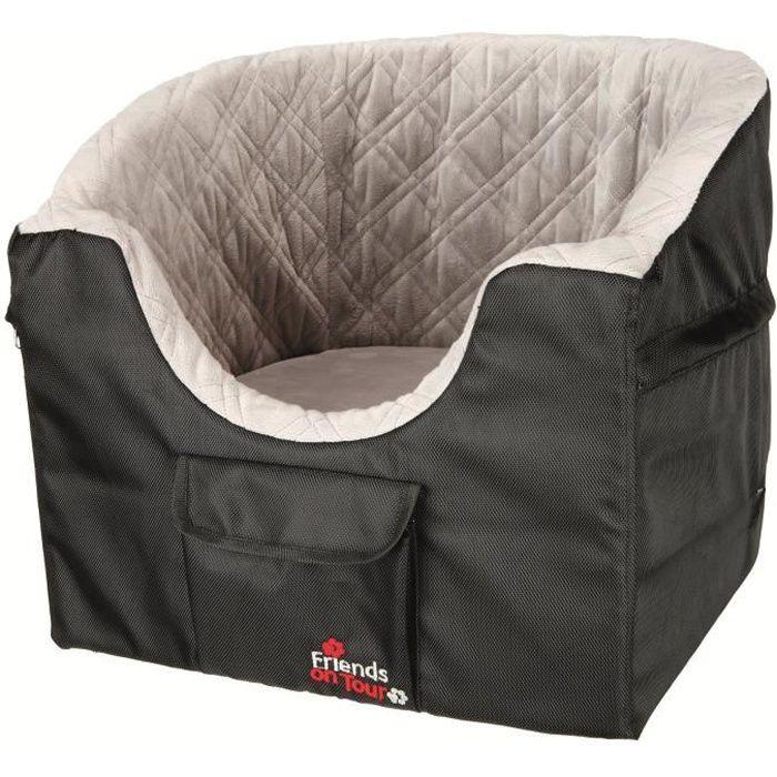 TRIXIE Siège de voiture - 45x39x42cm - Noir et gris - Pour chien