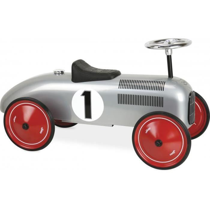 Vilac - Porteur voiture en métal gris - VILAC