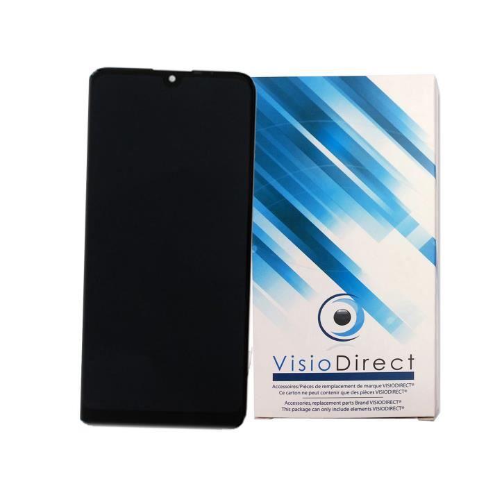 Ecran complet pour WIKO View 3 vert bleu Electro Bleen 6.26- Ecran LCD + vitre tactile Téléphone portable