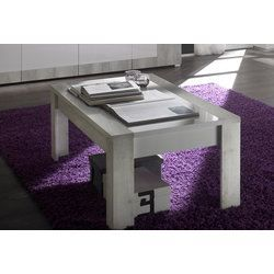 Table basse contemporaine marjolene coloris pi achat for Table basse et haute a la fois