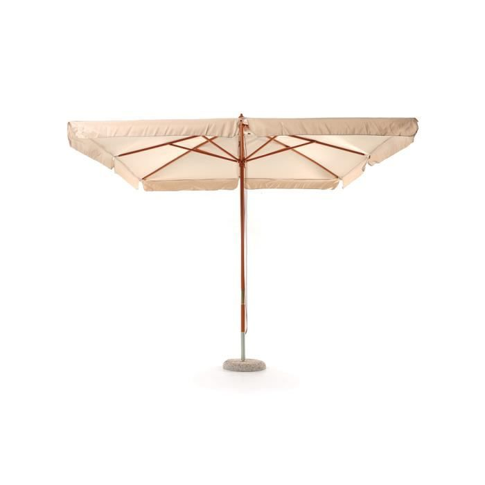 parasol en bois 3x4 06717 achat vente parasol parasol en bois 3x4 06717 prix doux. Black Bedroom Furniture Sets. Home Design Ideas