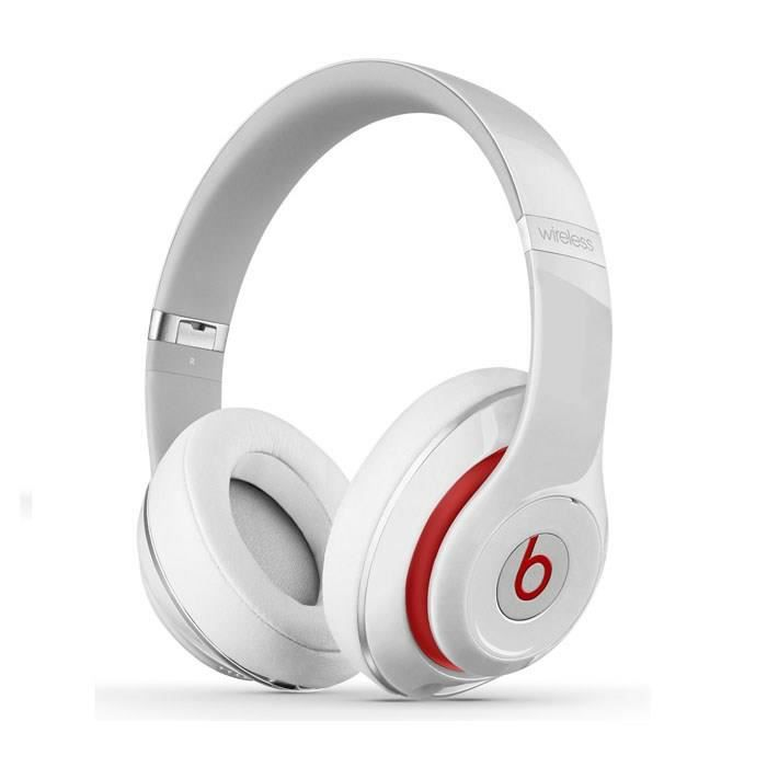 beats studio wireless blanc casque audio bluetooth achat. Black Bedroom Furniture Sets. Home Design Ideas