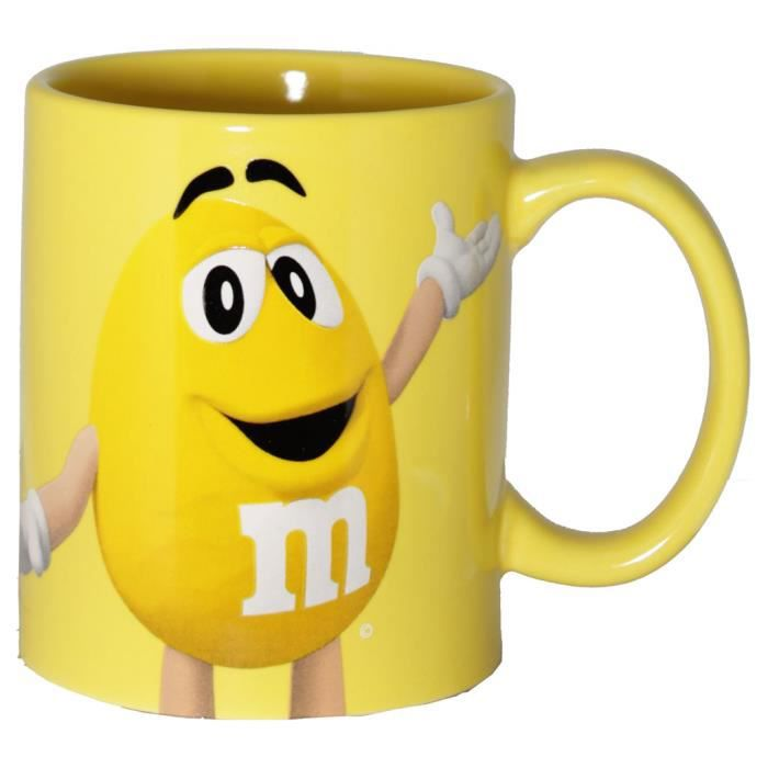 BOL Mm's - Mug M&M's Jaune