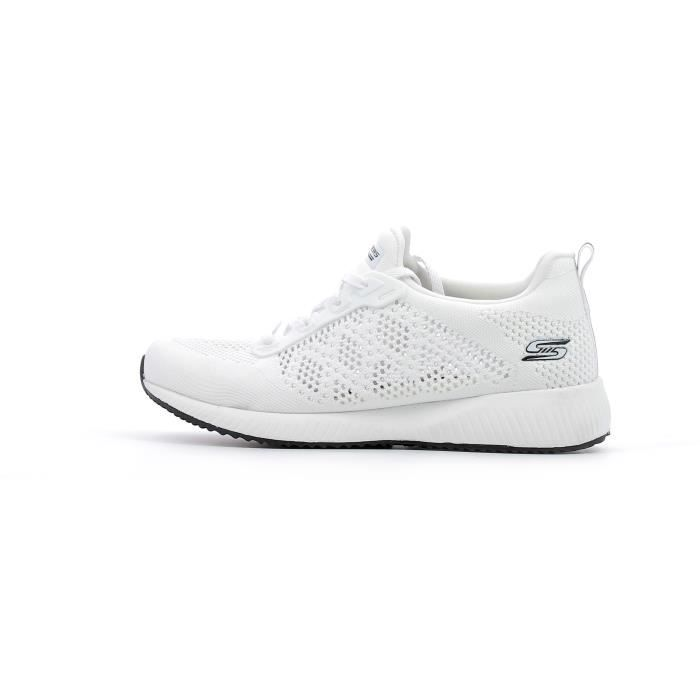 09c4b227264 Baskets basses Skechers Bobs Sport Squad - Ring Master coloris White ...