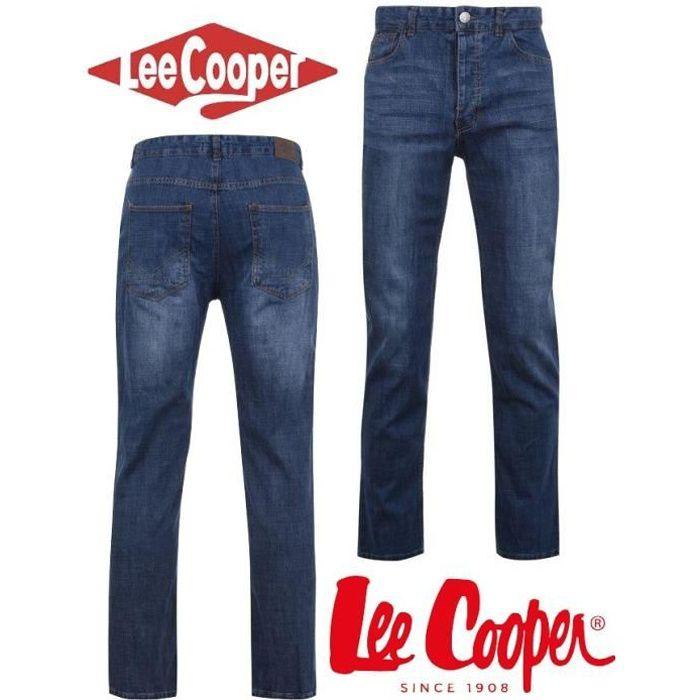 bine cunoscute New York stil de moda Jean Homme Lee Cooper Mid Wash du 40 au 50 Mid Wash - Achat ...