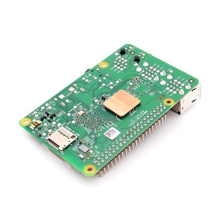 Un Ensemble de 3pcs adhésif aluminium dissipateur de chaleur Kit Pour Raspberry PI