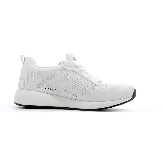 46d70737135 Baskets basses Skechers Bobs Sport Squad - Ring Master coloris White Blanc  Blanc - Achat   Vente basket - Cdiscount