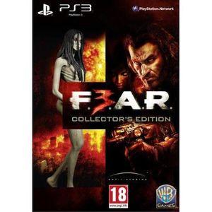 JEU PS3 FEAR 3 COLLECTOR / Jeu console PS3
