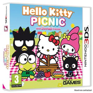 JEU 3DS HELLO KITTY PICNIC /2DS-3DS